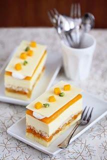 Cara Membuat Kue CREAM MANGGA
