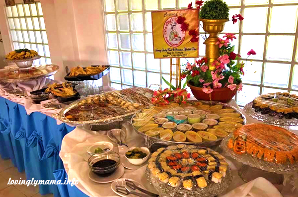 affordable Bacolod catering - Tita Ping's Foods and Catering Services