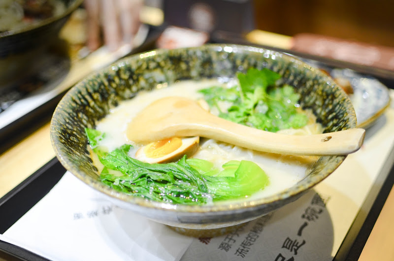 chinese noodle soup in suzhou restaurant
