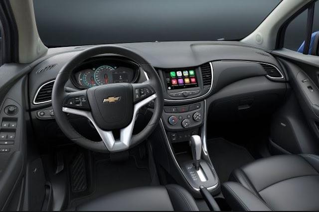 2017 CHEVROLET TRAX FWD 4DR LS Interior