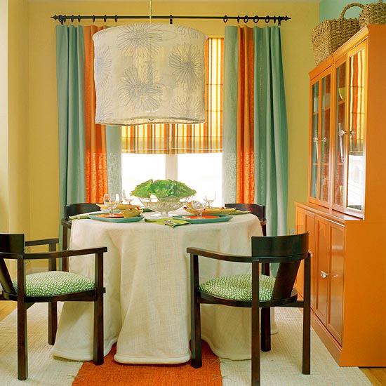 New Home Designer Decoration: New Home Interior Design: Decorating In Orange