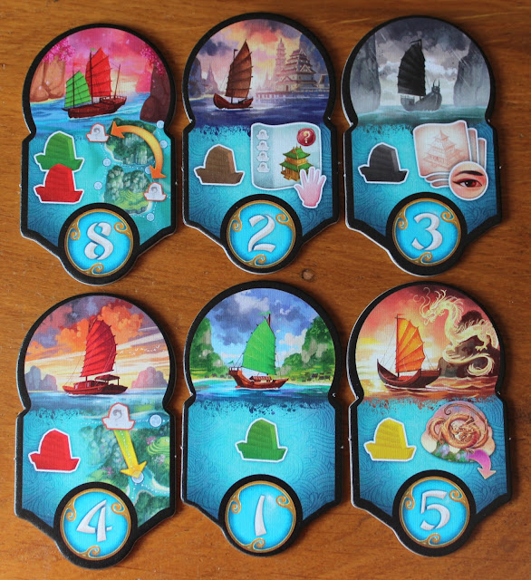 Yamatai Fleet Tiles