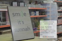 Poster Motivasi kata Islami