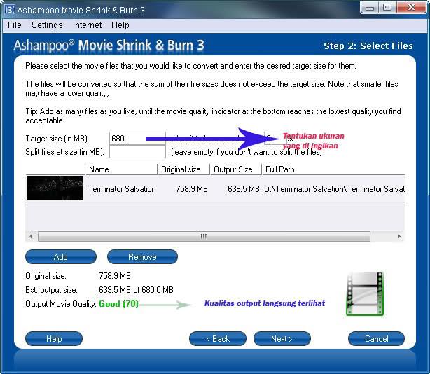 Ashampoo Movie Shrink and Burn 2.11 - Download in italiano
