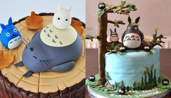Kue Cantik Dan Manis Ini Terinspirasi Dari Anime Totoro Yang Legend Banget