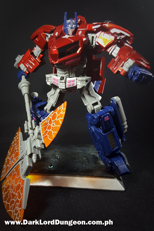 WFC Optimus Prime ITF01 Abyss Red