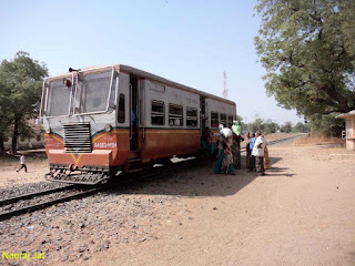 आंबलियासन से विजापुर मीटरगेज रेलबस यात्रा