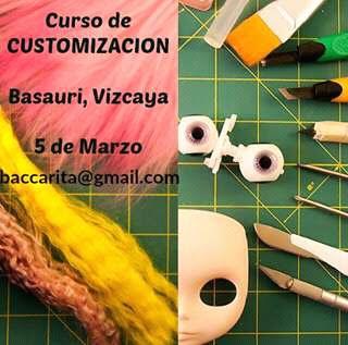 curso de customización de Baccarita en Basauri