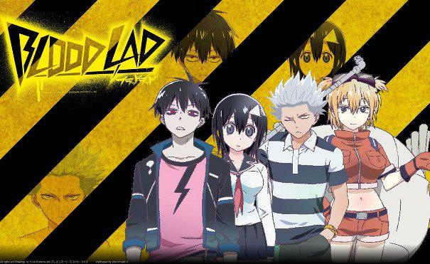 Blood Lad - Top Isekai Anime (Main Character Trapped in Another World)