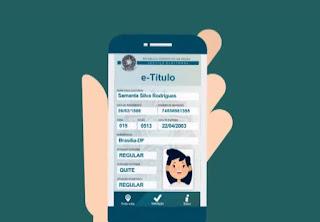 TSE lança título de eleitor digital, que também pode substituir documento impresso na votação