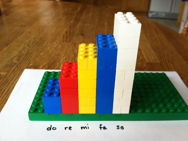 Legos and Major/Minor Scales