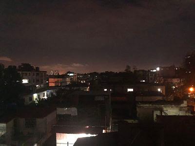 La Habana de noche. Cuba. Nuevo Vedado