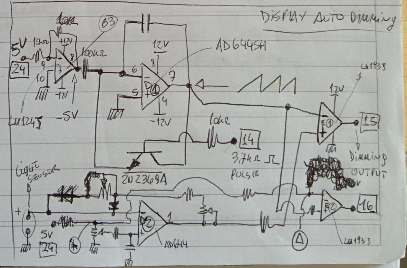 Lm324 Circuit Diagram As Well As Lm324 Parator Circuit