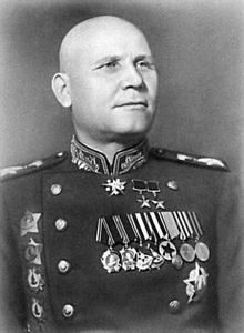 IVAN STEPANOVICH KONEV - Marshal Uni Soviet - Hero of the Soviet Union