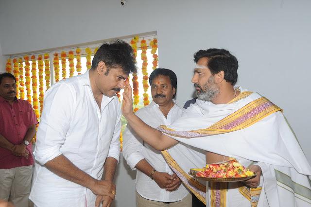 Pawan kalyan, AM Ratnam New Movie Launch
