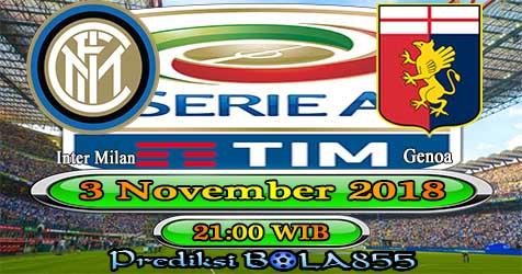 Prediksi Bola855 Inter Milan vs Genoa 3 November 2018