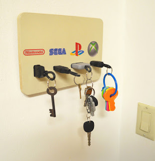 1 Llavero de consolas para gamers