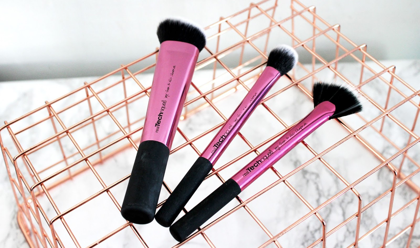 They are super soft and as with the other brushes they are really well made and stand up to washing. These have been washed about 6-8 times and still look ...