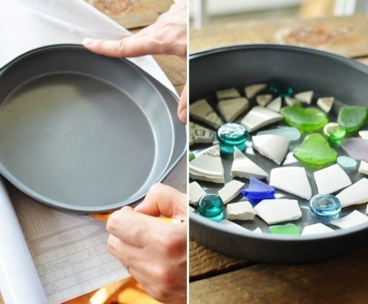 How to Make Mosaic Tiles for Garden