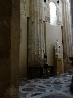 duomo siracusa colunas templo portugues2 - Especial Sicília - Siracusa