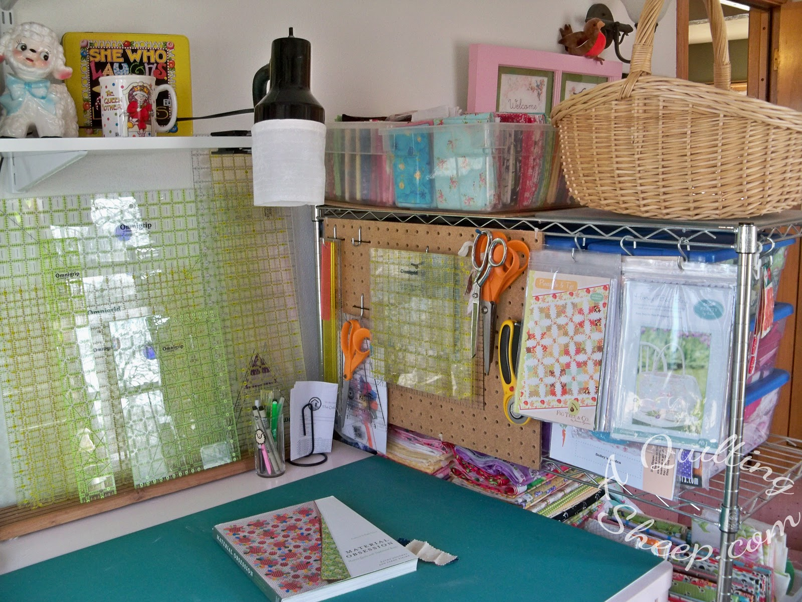 A Quilting Sheep New Sewing Room