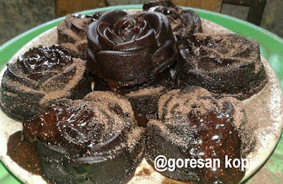 cara membuat chocolatos lava cake kukus