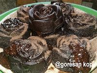 Cara Membuat Chocolatos lava cake kukus Enak