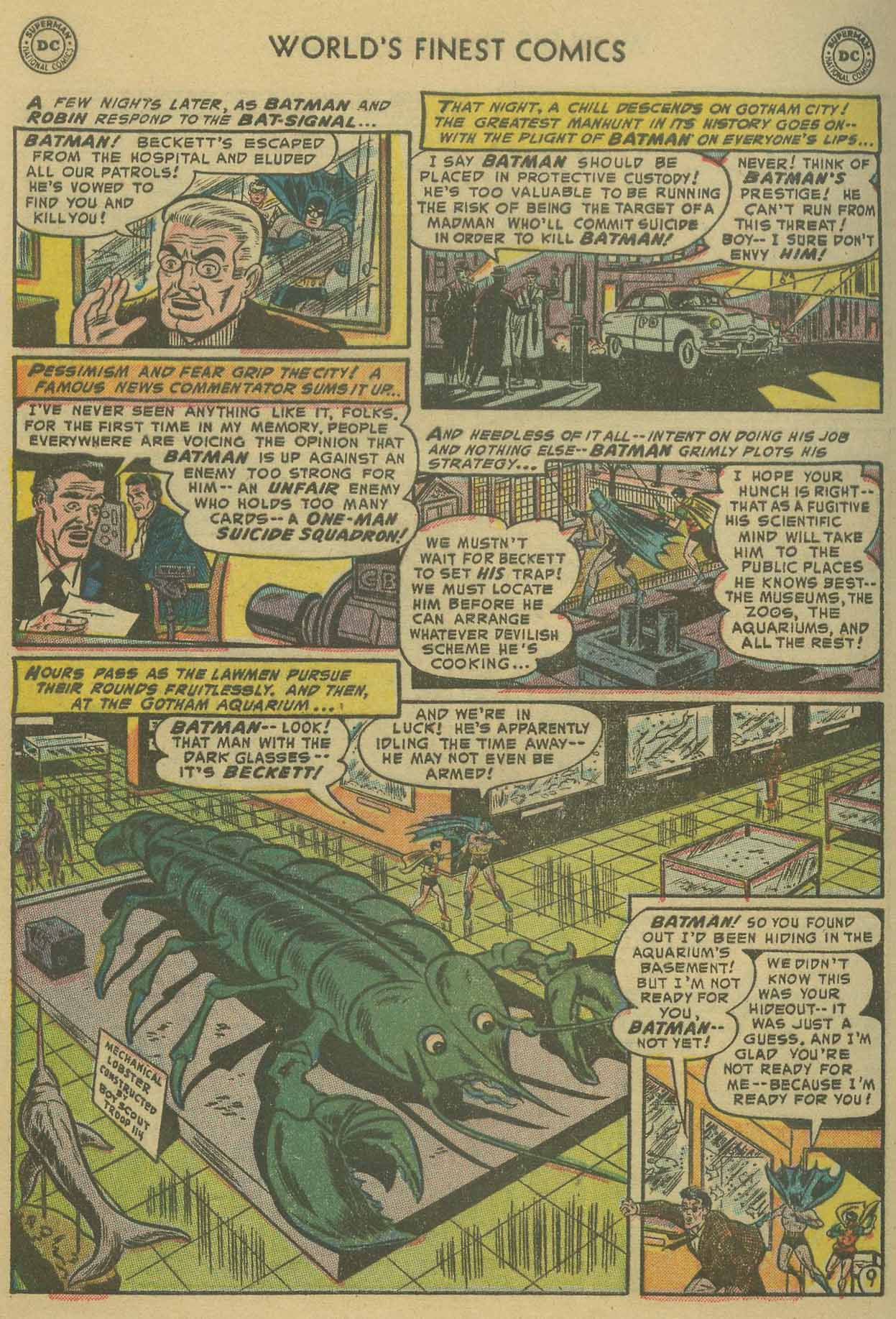 Read online World's Finest Comics comic -  Issue #69 - 62