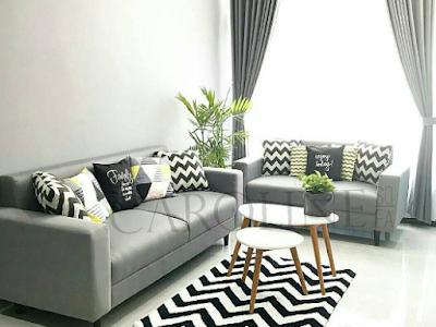 sofa untuk ruang tamu sempit