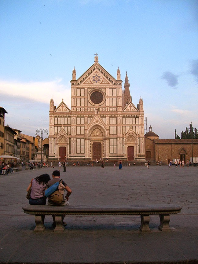 FUA provides apartments for students in the heart of the city. Ryan ended up in the neighborhood of 15th century landmark Santa Croce. (Photo by J. Besl)