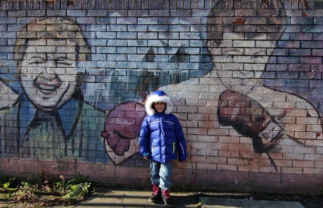 Conociendo a Rocky Balboa en Belfast