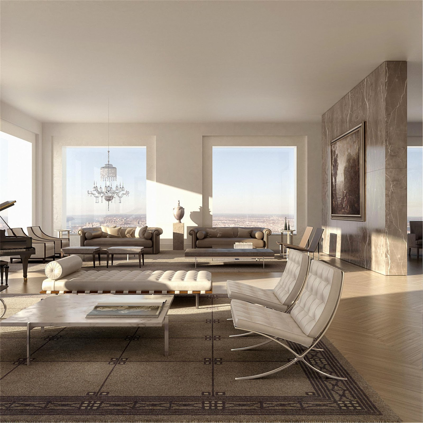 Most Expensive Apartment In Nyc: Passion For Luxury : Glorious 432 Park Avenue Skyscraper