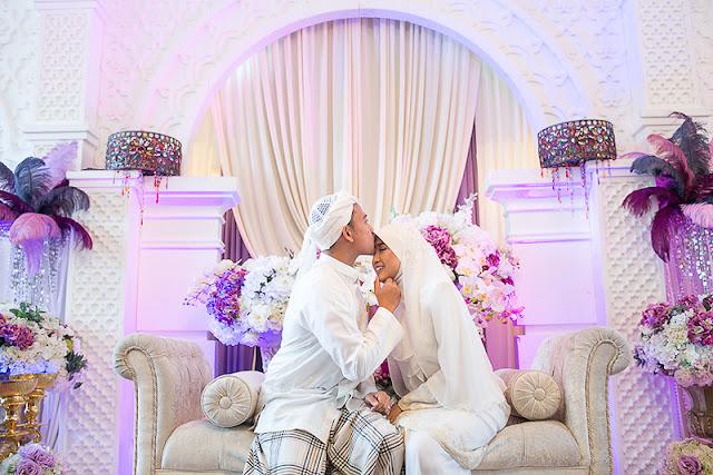 purple wedding Malaysia