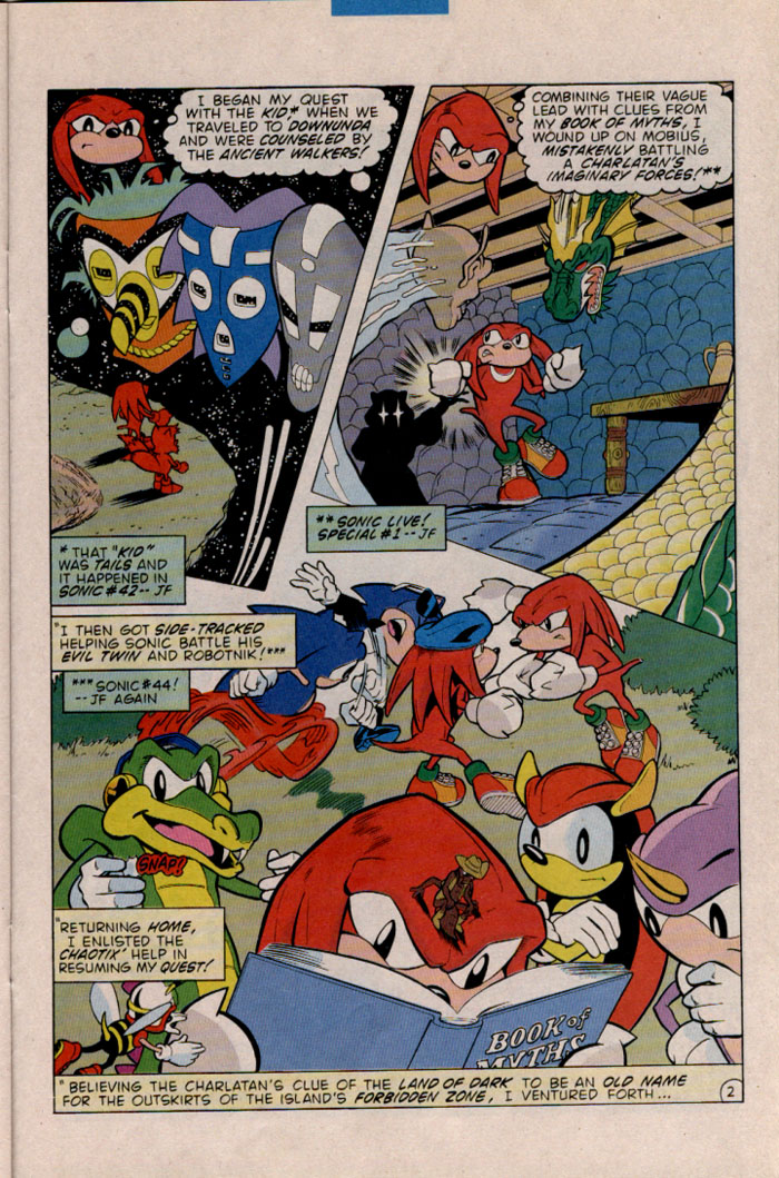 Read online Sonic The Hedgehog comic -  Issue #45 - 21
