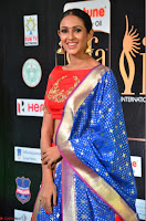 Priya Shree in Beautiful Blue Saree at IIFA Utsavam Awards 2017  Day 2    HD Exclusive Pics 25.JPG