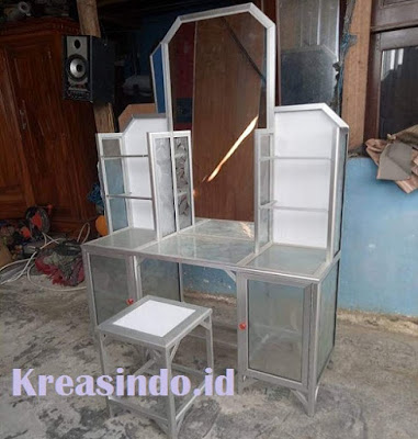 Harga Meja Rias Bahan Aluminium dan Model Terbaru