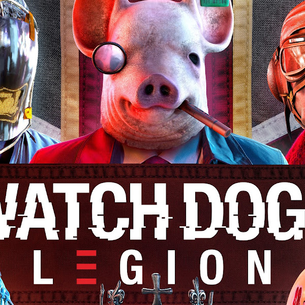 Watch Dogs Legion Pig Mask Characters 8K Wallpaper #6