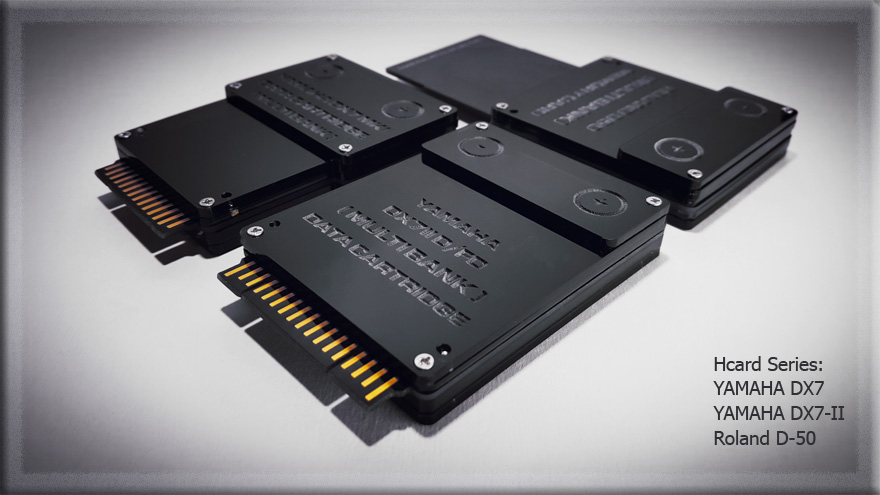 MATRIXSYNTH: HyperSynth Intros Memory Expansion Cards for Yamaha DX