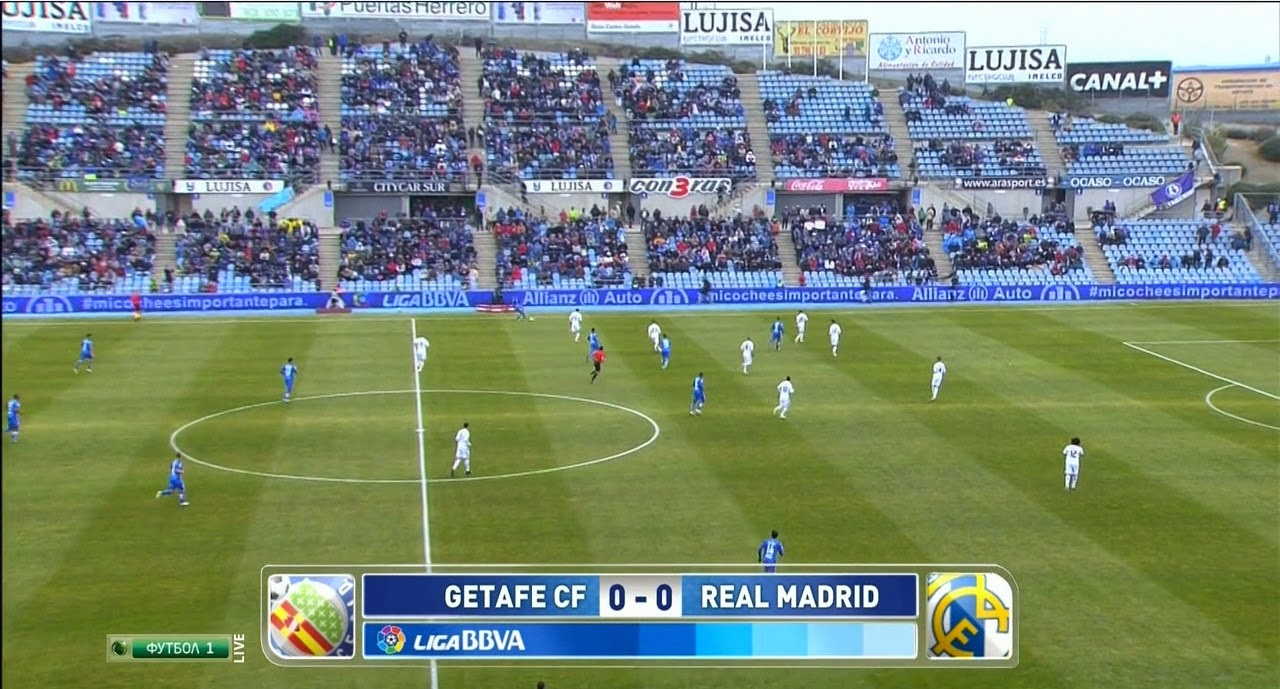 Real Madrid Vs Getafe 2012: REAL MADRID HD(12.10.2013): GETAFE