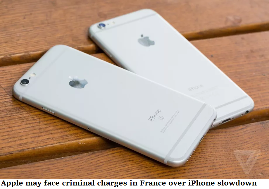 Apple may face criminal charges in France over iPhone slowdown