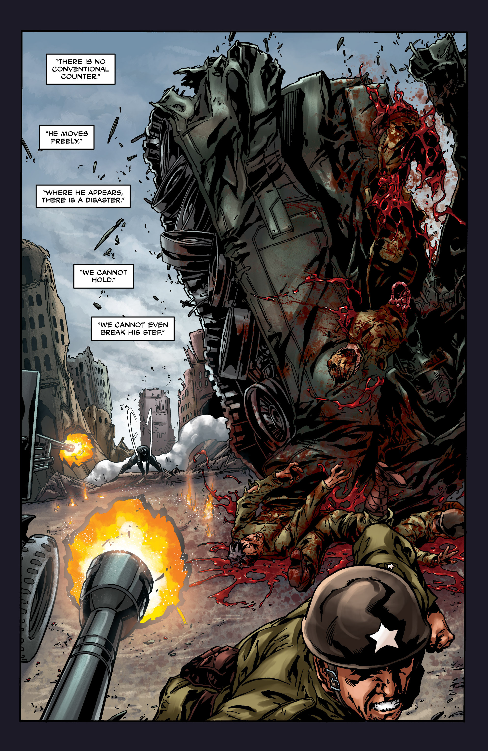Read online Uber comic -  Issue #8 - 13