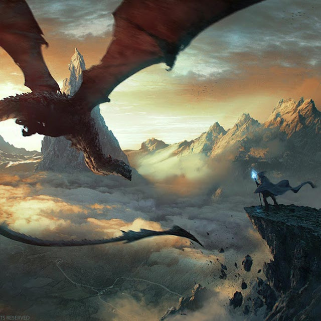 Dragon and Magic Wallpaper Engine