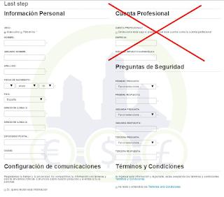DISTINTOS TIPOS DE CUENTA EN PAYTOO