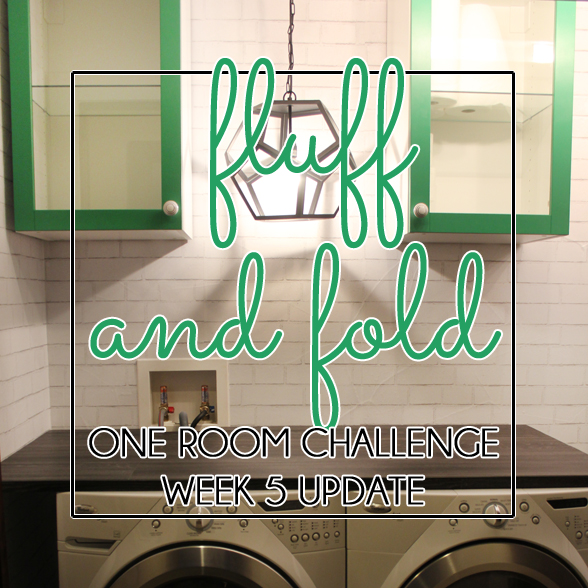 One Room Challenge Laundry Room
