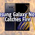Home  Gadgets  Samsung Galaxy Note 9 Catches Fire In Woman's Purse, History Repeats GADGETS Samsung Galaxy Note 9 Catches Fire In Woman's Purse, History Repeats