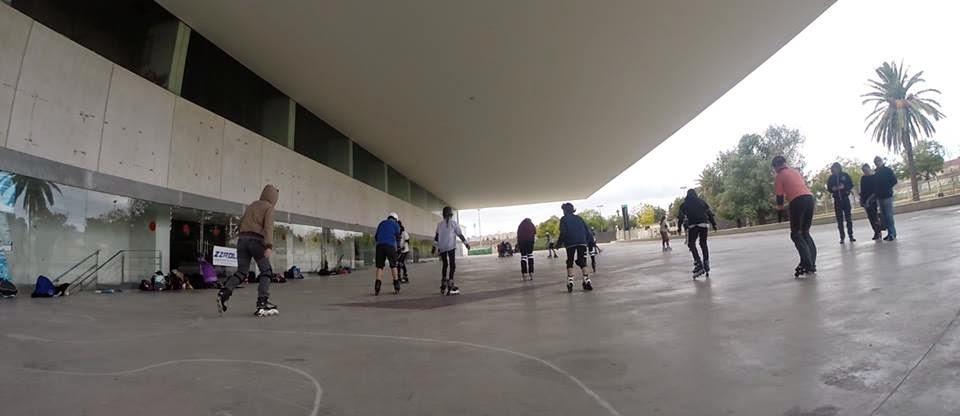 Donde patinar en jerez y provincia de c diz asociaci n for Hormigon impreso jerez