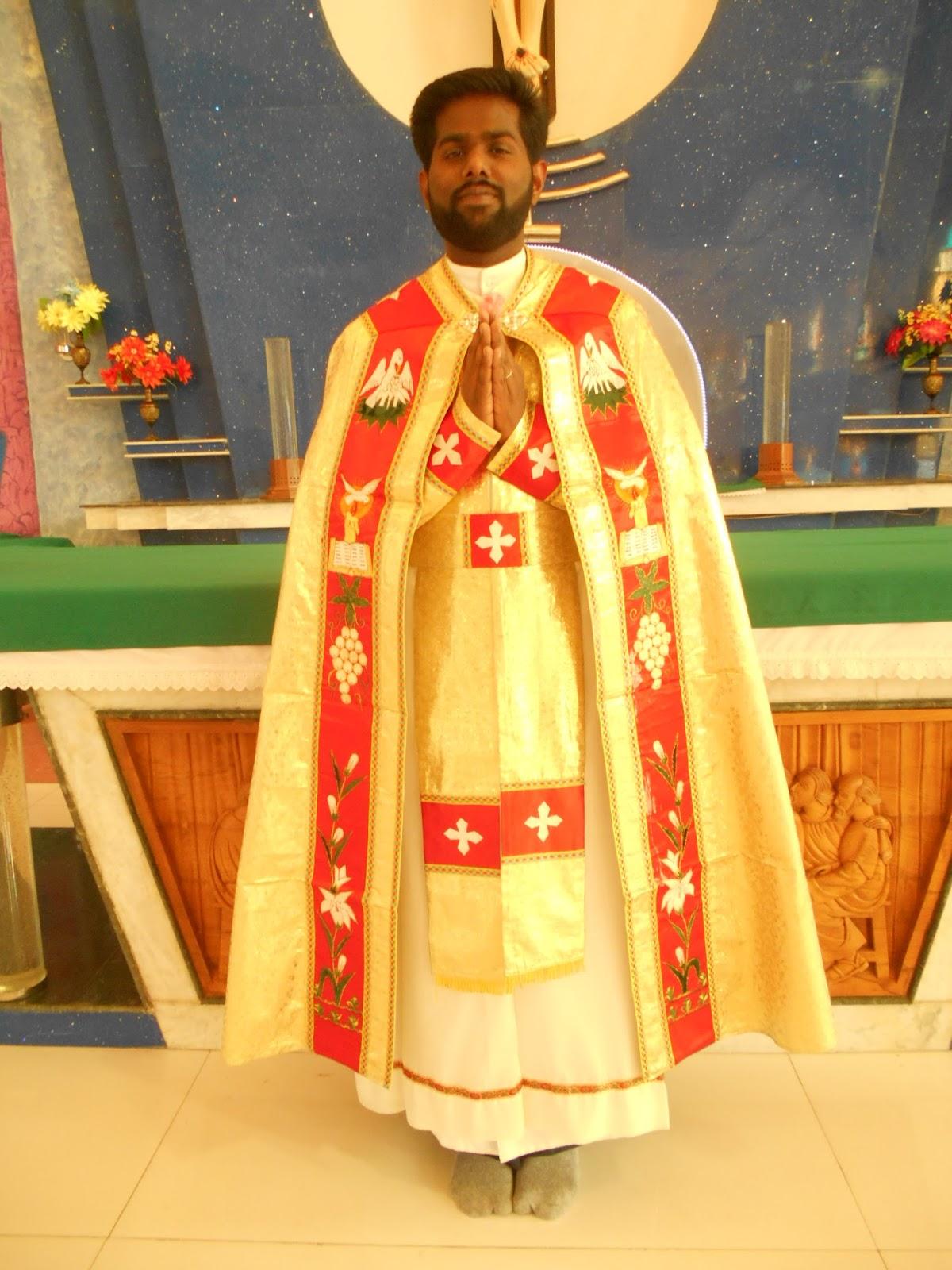 DIOCESE OF SAGAR: Deacon Jose Maripurath was ordained priest
