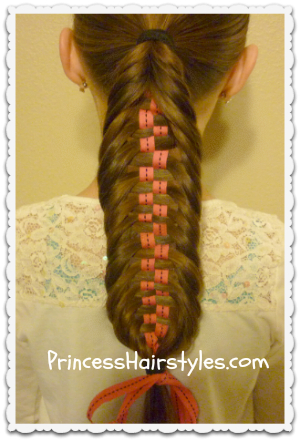 Checkerboard Fishtail Braid Tutorial