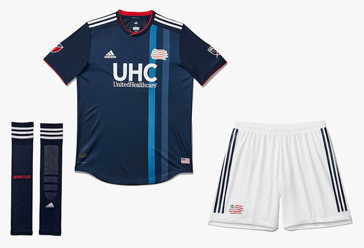 New England Revolution 2018 2019 Home Kit Released Footy