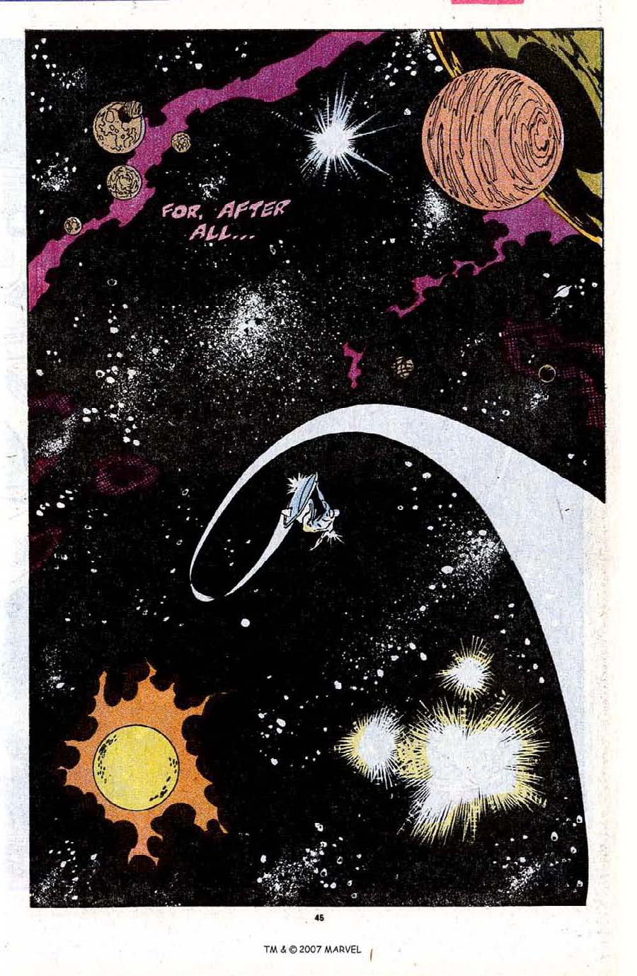 Read online Silver Surfer (1987) comic -  Issue #31 - 47